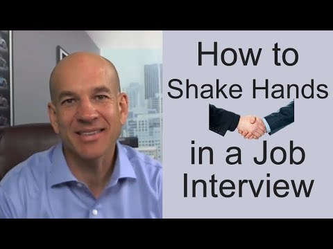 How to Shake Hands in a Job Interview - Training Module 4