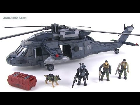Mega Bloks UH-60 Blackhawk CoD: Ghosts Tactical Helicopter review