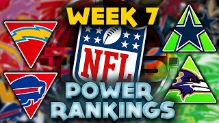 The Official 2021 NFL Power Rankings Week 7 Edition    TPS
