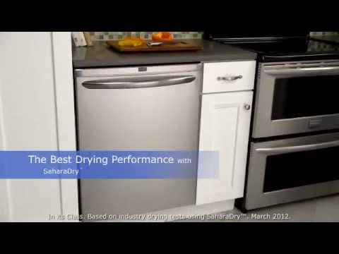 Frigidaire Gallery Dishwashers with OrbitClean Technology