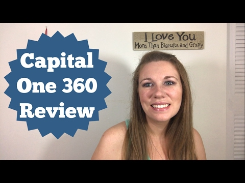 CAPITAL ONE 360 REVIEW! WHAT ARE THE PROS AND CONS.. PLUS A $25 BONUS!!