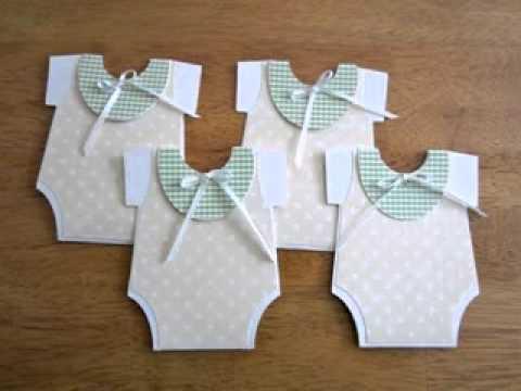 DIY Homemade baby shower invitation Decorating ideas