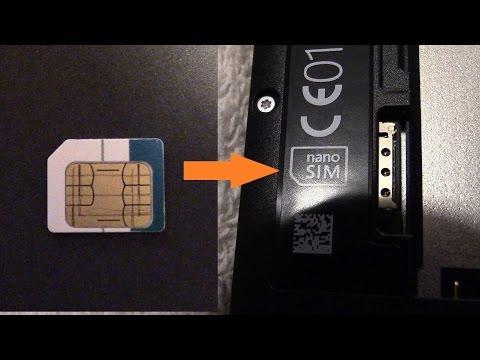 Micro sim card in Nano slot