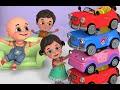 Car Videos EP 4 Five Little Cars Jugnu Kids Nursery Rhymes And Baby Songs
