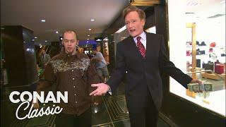 Conan Spends $400 At Rockefeller Center - Conan25: The Remotes