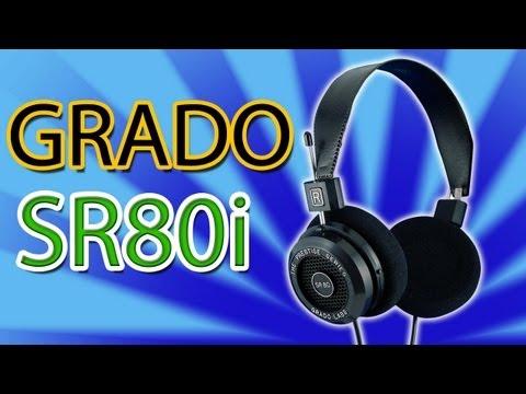 Grado Labs SR80i Headphones Review! & Demo!