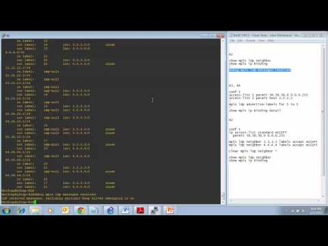 Cisco Network CCNP MPLS - Label Distribution Protocol