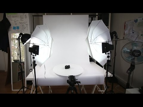 DIY HOME STUDIO FOR PHOTO AND VIDEO - VLOG #5