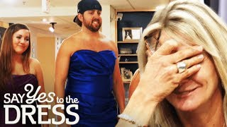 Rambunctious Groom Derails Bridesmaid Appointment!   Say Yes To The Dress Bridesmaids