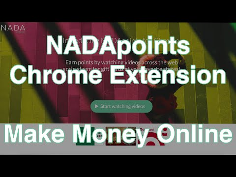 Make Money with NADApoints Chrome Extension - Make Money Online