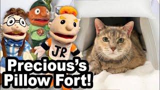 SML Movie: Precious's Pillow Fort!