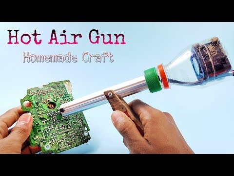 Soldering Iron Plug How To Make A Hot Air Gun Simple At Home