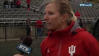 Amy Berbary - Postgame Soccer Interview
