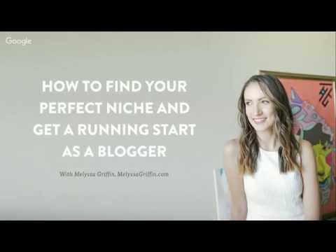 How to Find Your Perfect Niche + Get a Running Start as a Blogger