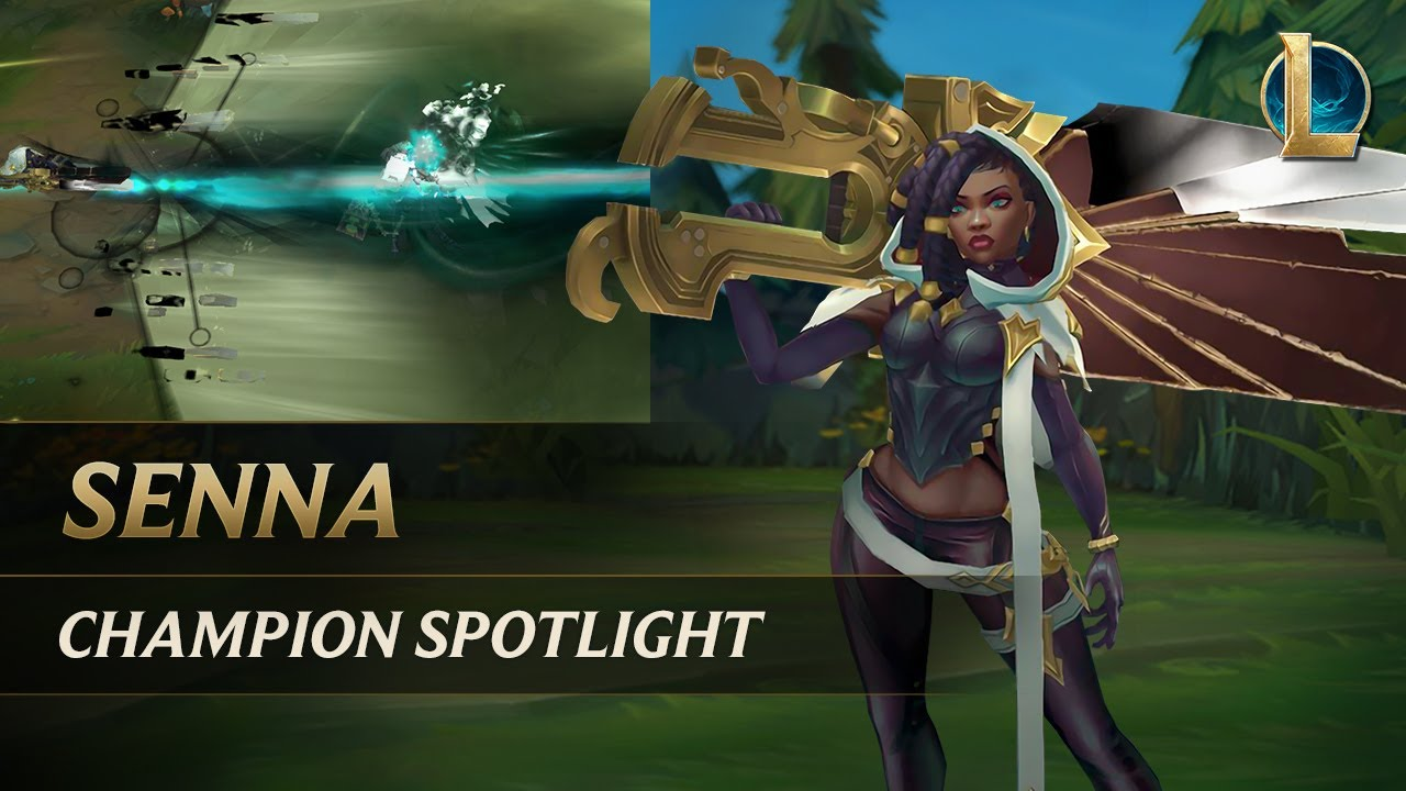 Senna Champion Spotlight | Gameplay - League of Legends
