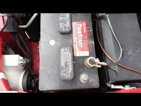Battery or dead alternator test?