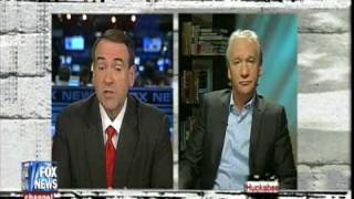 Bill Maher & Mike Huckabee on religion