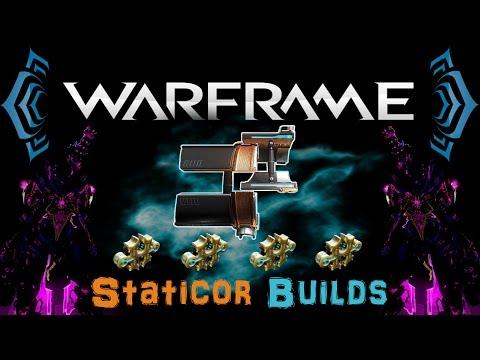 [U18.4] Warframe - Staticor Builds [4 Forma] | N00blShowtek