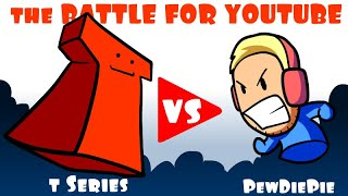 Download The Battle For [ Pewdiepie vs T Series ] * An Animated Short * Video