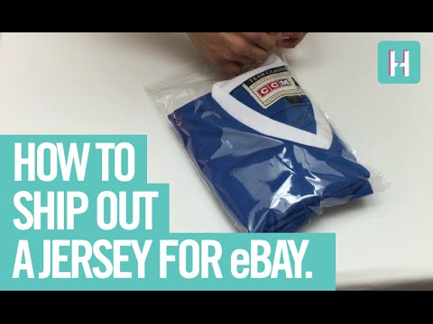 The Cheapest and Easiest Way to Ship a Jersey for eBay! (How to)