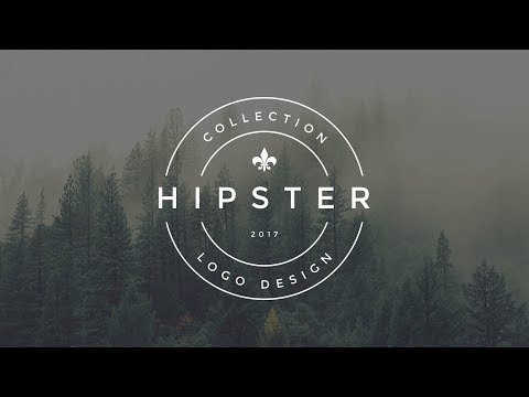 Photoshop Tutorial Vintage Hipster Logo Design (v1) | Sopheap Design