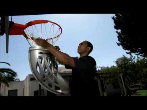 Shoot-Around Basketball Ball Return Demonstration