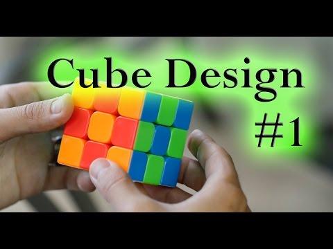 3x3 Rubik's Cube: Design Series #1 [Checkerboard]