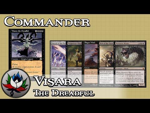 Visara the Dreadful Mono Black EDH/Commander Deck Tech – MTG!