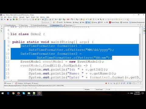 Hibernate 5 Tutorial - Stream and Date and Time API in Java 8
