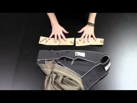 How to Construct the Hollywood Trouser Waist