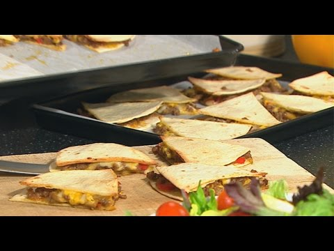 How to cook Spicy Beef Quesadillas | Ireland AM