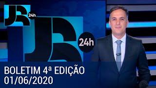 Assista à íntegra do Jornal da Record | 01/05/2020