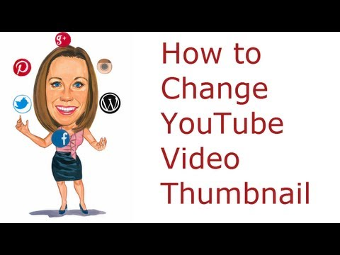 How to Change the YouTube Thumbnail to a Custom Image