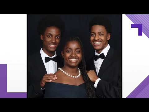 Triplets all graduate with a 4.0 GPA