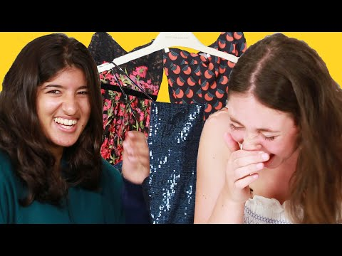 Best Friends Pick Each Other's Prom Dresses