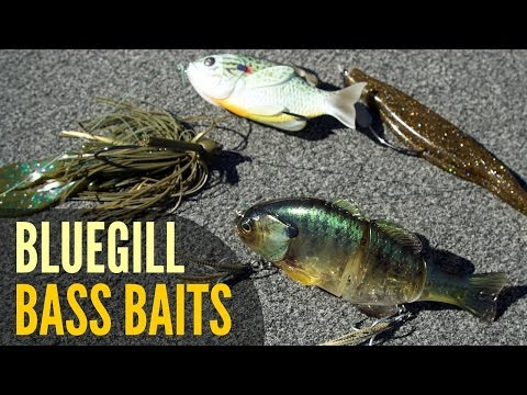 Bass Lures for the Bluegill Spawn