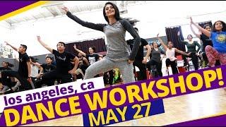 MANPREET's DANCE WORKSHOP in LOS ANGELES! (May 27, 2017)