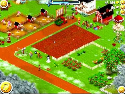 Hay Day stupid fox walk into my farm