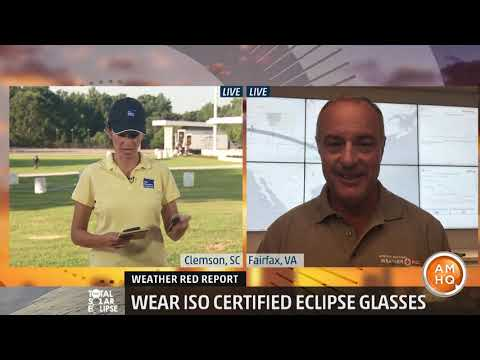 Weather Red Report: Eclipse Safety Tips