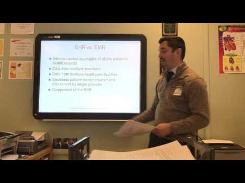 EHR Chapter 1 Lecture: Introduction to Electronic Health Records