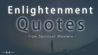 Enlightenment Oneliners || Powerful Quotes from Spiritual Masters
