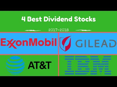 4 Great Dividend Stocks for 2017 and 2018