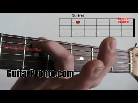 how to tune a guitar - 5 simple steps