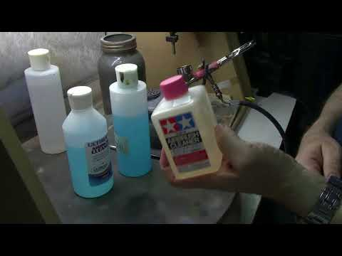Airbrush Cleaning Part 1