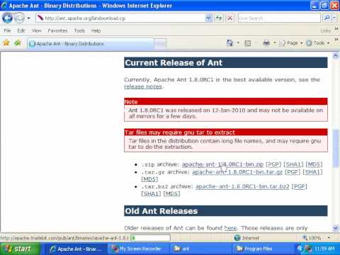 04- Install Ant on Windows (for Red5)