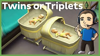 Sims 4 - How to Get Twins and Triplets (No Mods or Cheats)
