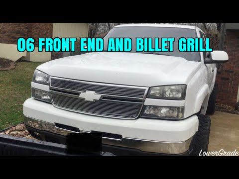 Billet Grill Install & New Front End