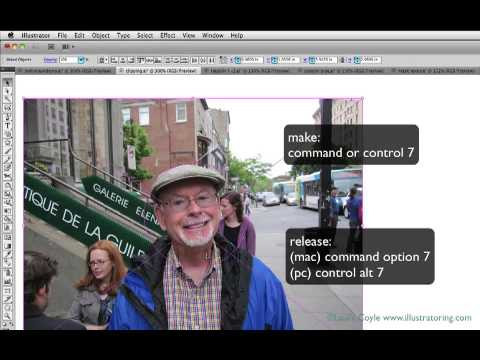Illustrator Tutorial: Create & Edit Clipping Masks