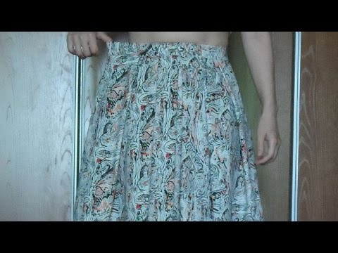 How To To Make The Belt Of The Skirt Smaller. - DIY  Tutorial - Guidecentral