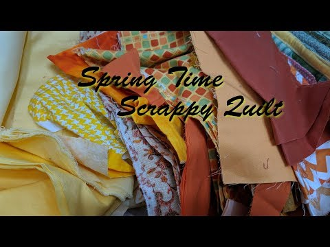 Week 1 Spring Time Scrappy Quilt